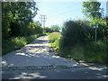 SP7334 : Footpath to Thornborough Mill by Shaun Ferguson