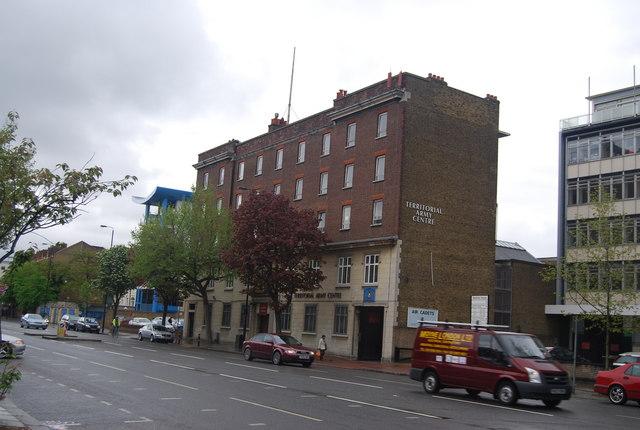 Territorial Army Centre, Balham High Rd