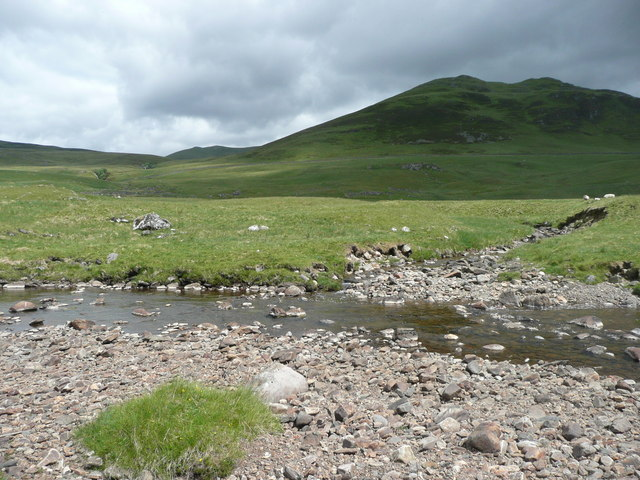 Confluence of Allt Ruigh nan Eas and  Allt Fearnach