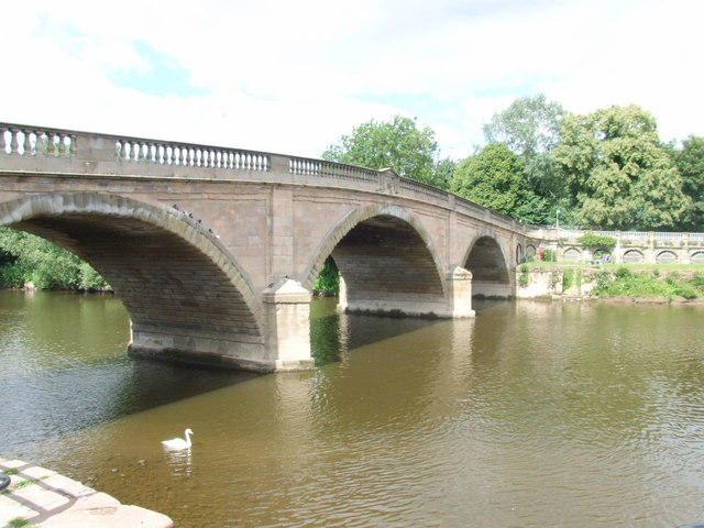 Bewdley Bridge over the River Severn