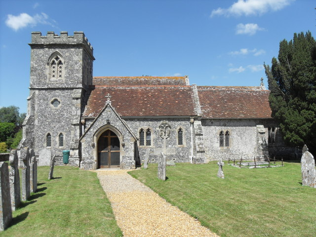 St. Andrew's church, Nunton