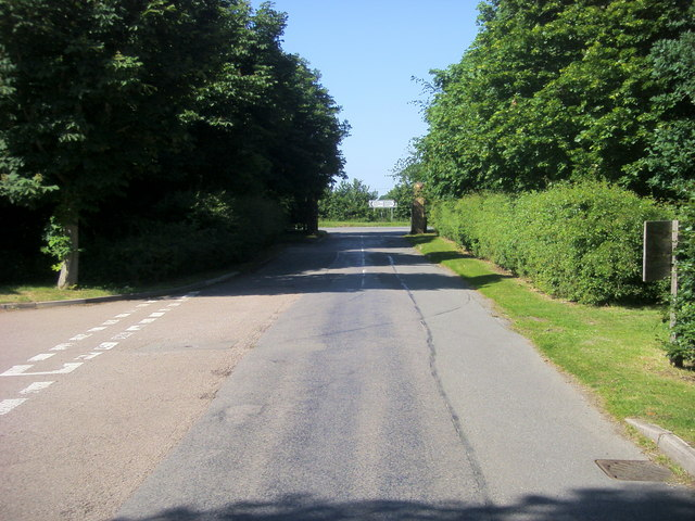 Nearing the A413