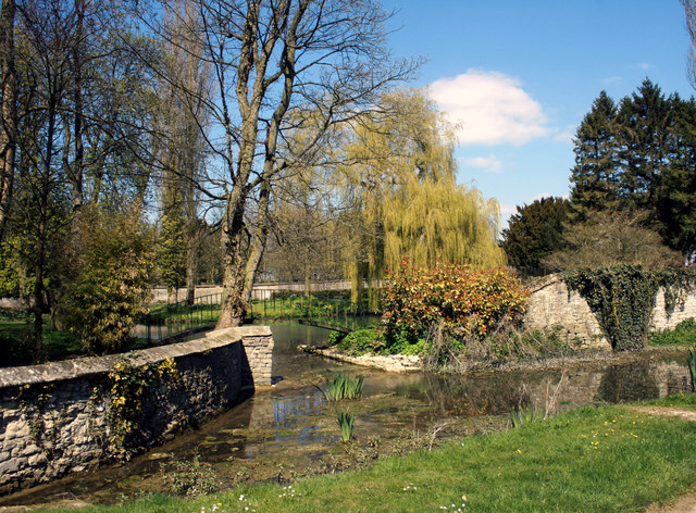 Water Garden at Cottisford House