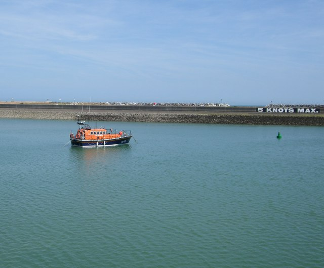 Boat near Lifeboat Station