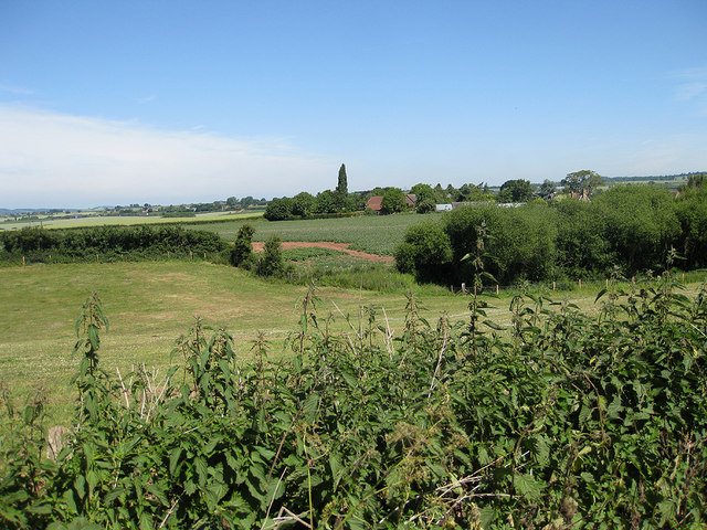 View over the hamlet of Kingstone