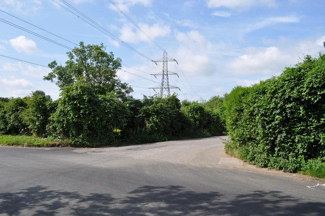 A lane off Sandhurst Road