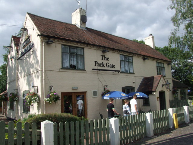 The Park Gate, near Cookley