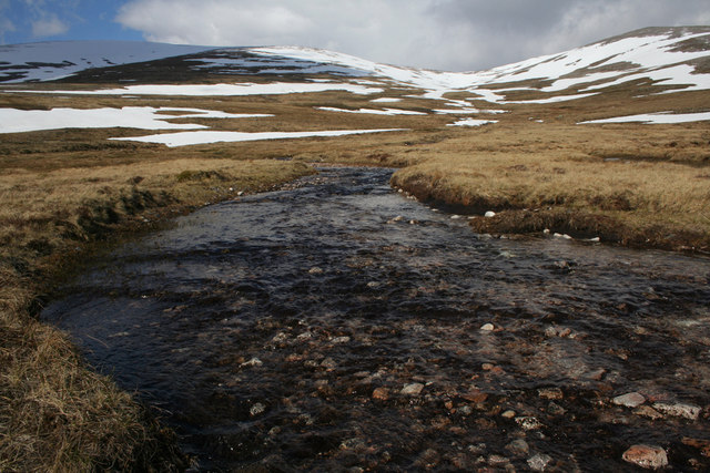 Headwaters of Allt Luineag