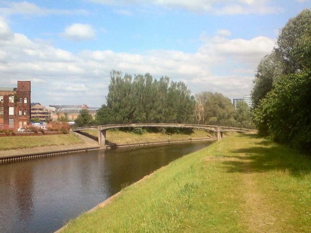 River Irwell; Cottenham Lane Bridge
