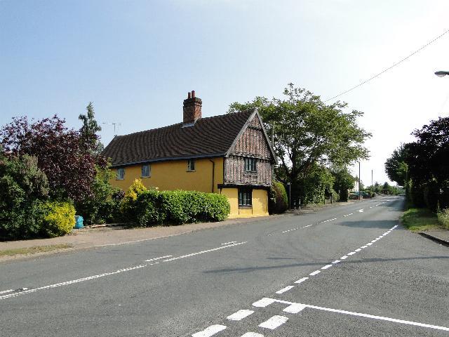 Crown Farmhouse, Ufford