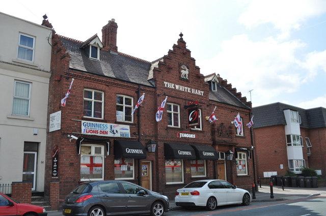 The White Hart pub, Kingsholm Road