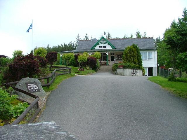 Kingussie Golf Club house