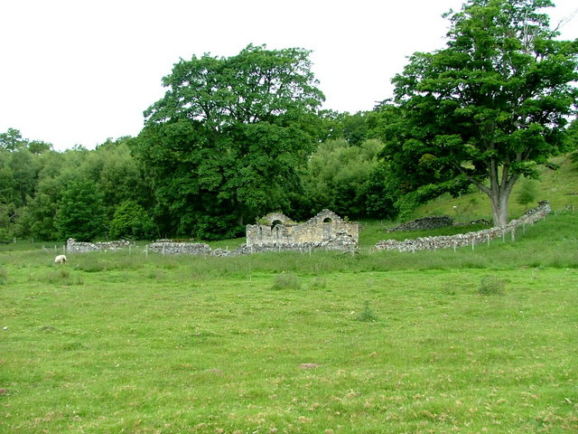 Ruin near Dunachton Lodge