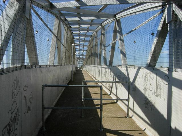 Black Path Footbridge, Rugby