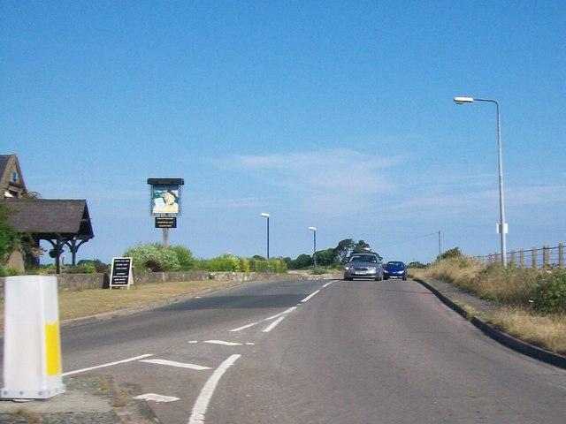 The B4412 at Bryncynan