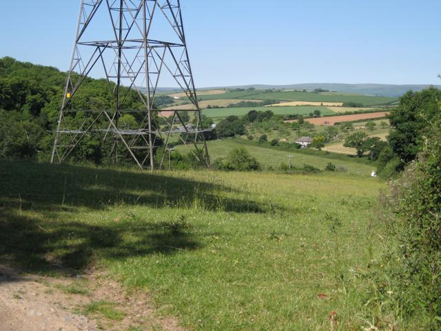Pylon west of Woodland