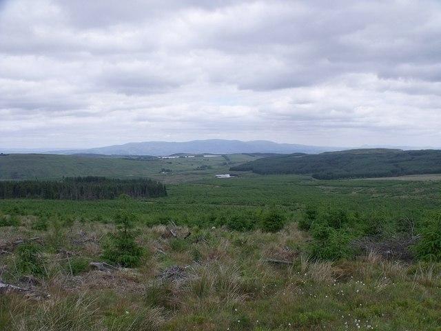 Towards Faughlin Reservoir