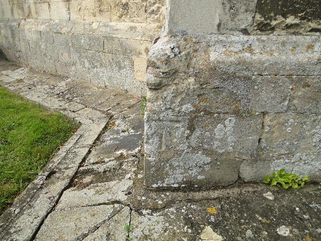 Benchmark on Framlingham church