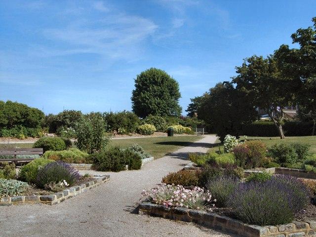 Garden in Princes Park