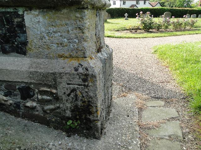 Bench Mark at Dennington