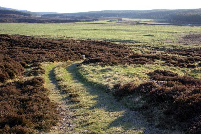 Old road at Corarnstilmore