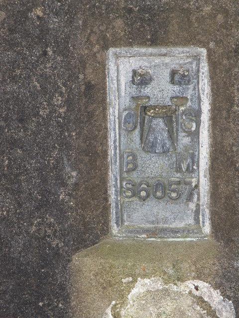 Tetford Hill cross roads trig pillar