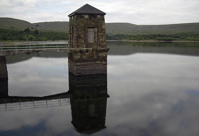 Valve Tower, Watergrove Reservoir