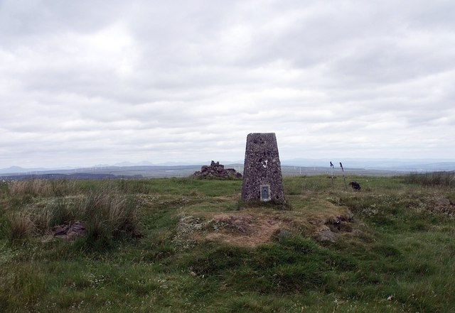 Tamtain trig and cairn
