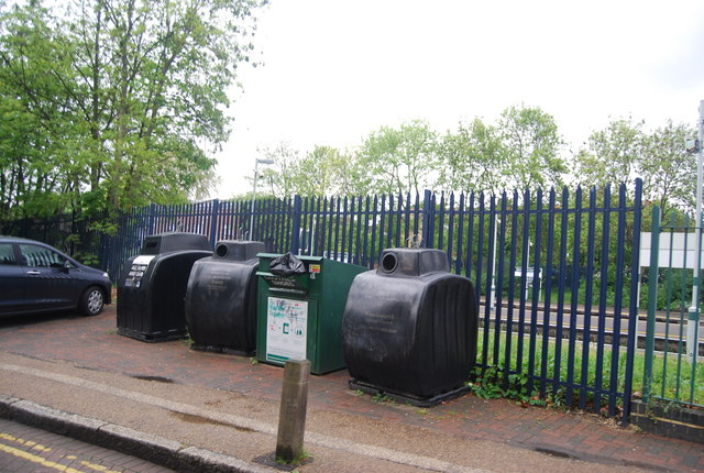 Recycling site, Wandsworth Common Station