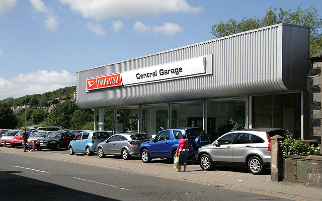 Daihatsu Central Garage, Galashiels