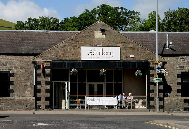 The Scullery Restaurant, Galashiels