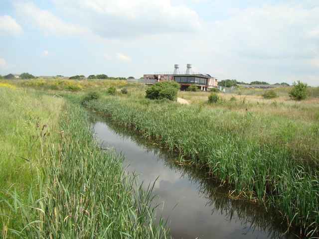View of the Rainham Marshes Nature Reserve Information Centre #2