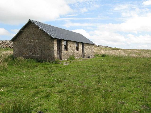 Shooting hut, Agarshill Fell