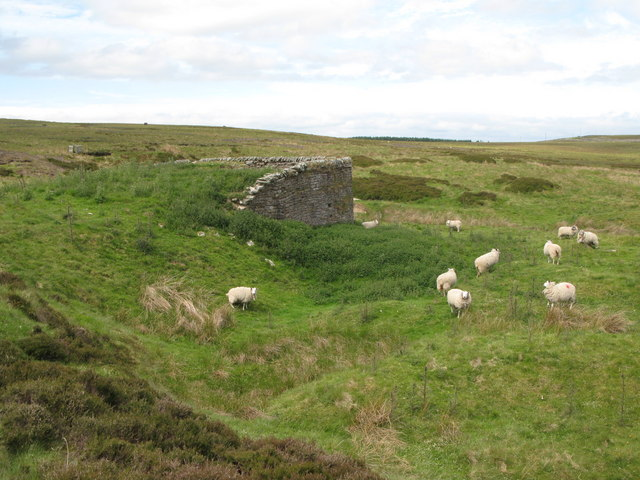 Lime kiln below Dykerow Fell (2)