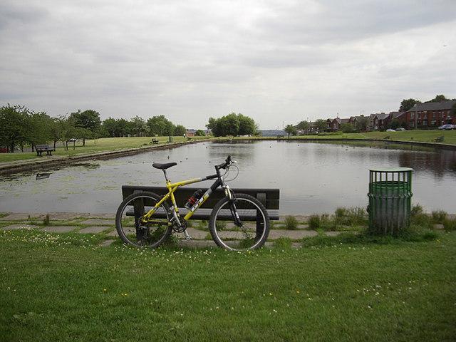 Syke Pond on Cronkeyshaw Common