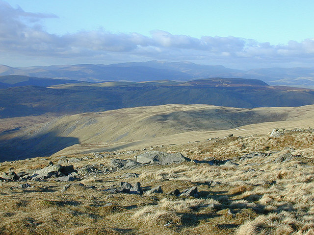 Northern view from Pen Pumlumon Arwystli