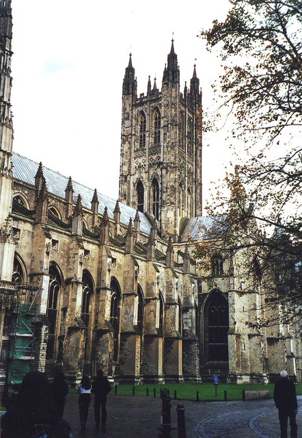 Canterbury Cathedral, south side