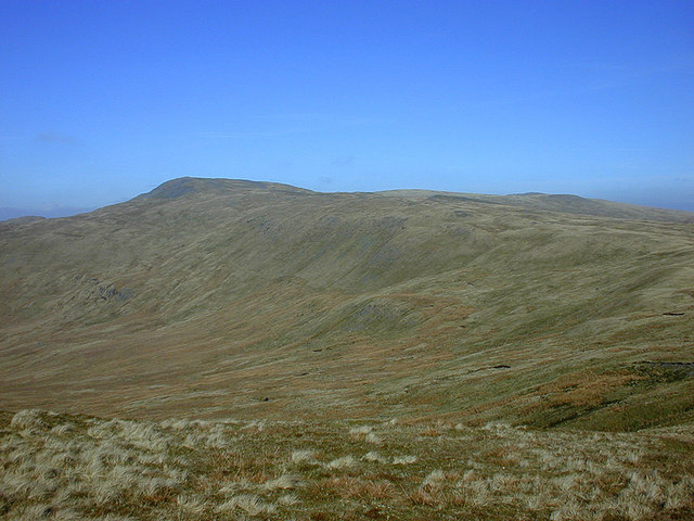 Plynlimon seen from Y Garn