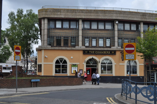The Chambers pub, Market Parade