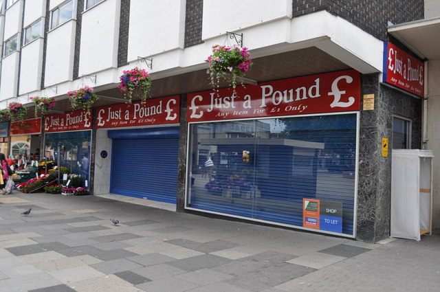 We know we're in trouble when the pound shops start closing down
