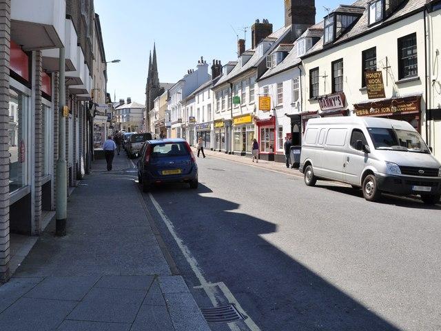 Bridgeland Street, Bideford