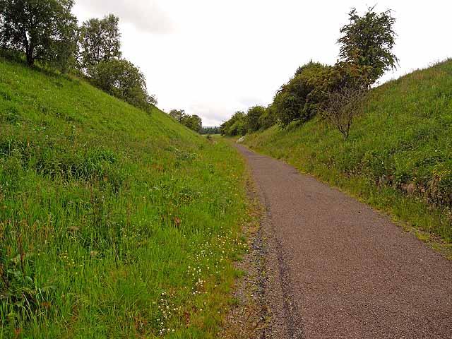 South Tyne Trail near Park Village