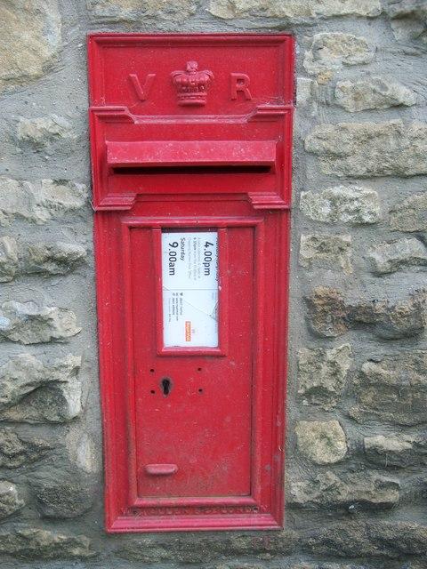 Victorian Letterbox, Idbury