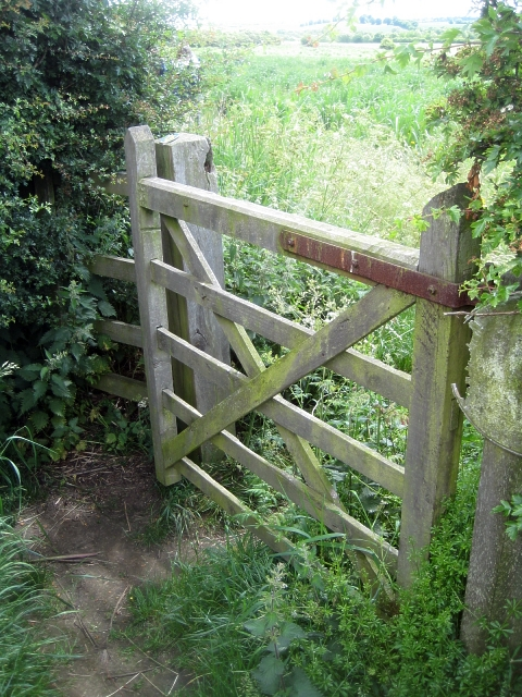 Public footpath, Heath Common (5)
