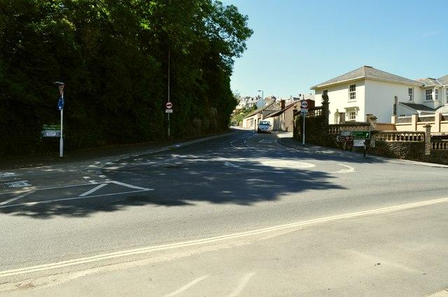 Torridge Hill leading away from New Road