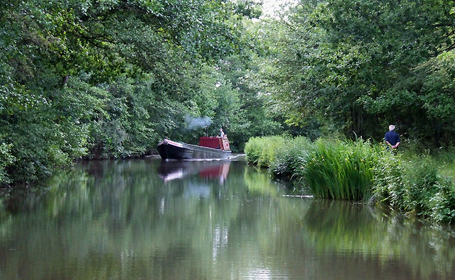 Coventry Canal near Fradley Junction, Staffordshire