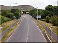 SD7918 : Wood Lane (A56) by David Dixon