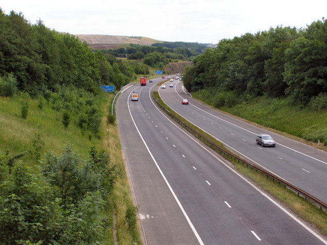M66 towards Bury