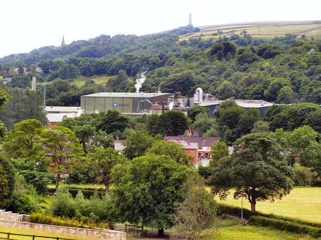 Stubbins Mill and Holcombe Hill