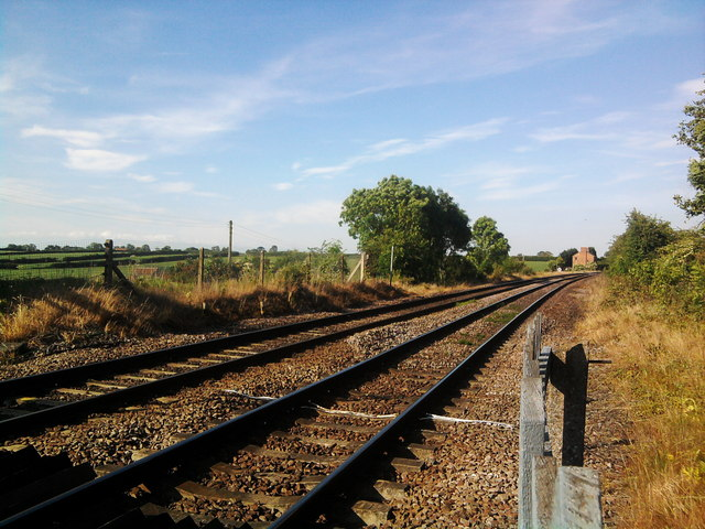 Site of former station, Brompton by Northallerton